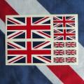 Kit 10 adesivi inglesi