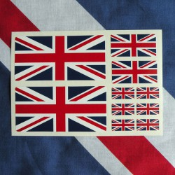 Kit 10 adesivi inglesi...