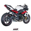 Scarico SC Project conico per Street Triple 2013/2016