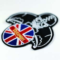 Patch ricamata Triumph UK...