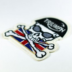 Patch ricamata Triumph UK...