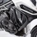 Protezione motore paracilindri tubolare SW-Motech per TRIUMPH Tiger Explorer / 1200 NERO