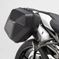 Kit completo borse laterali SW-Motech URBAN ABS + telai laterali SLC per TRIUMPH Speed Triple 1050 S / RS