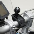 Aggancio a manubrio moto universale SW-Motech per supporto porta GPS e/o accessori RAM - ARM
