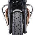 Protezione motore tubolare CROMATA per Speed Twin Hepco & Becker