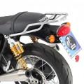 Portapacchi tubolare CROMATO per Thruxton 1200