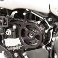 Copripignone in alluminio CNC per Triumph classiche
