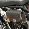 Borsetta in pelle 140x240 mm per Triumph