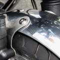Parafango anteriore in alluminio LSL per Thruxton 1200