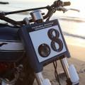 Mascherina con faro NEPTUNO TAMARIT per Triumph 790/865