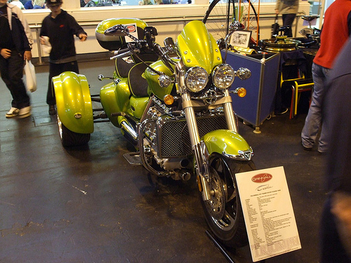 Triumph Rocket trike