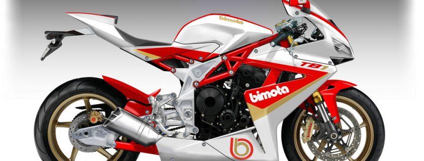 La BIMOTA TB1 con motore Triumph 675