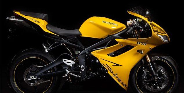 Triumph Daytona Super III 2013