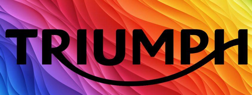 Tutti i codici colore della gamma Triumph