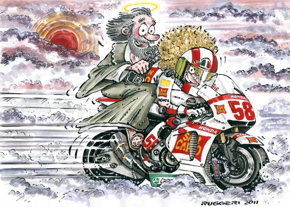 Marco Simoncelli SIC vignetta