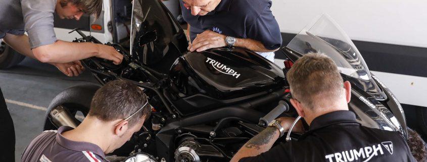 Tutti i richiami ufficiali di Triumph Motorcycles