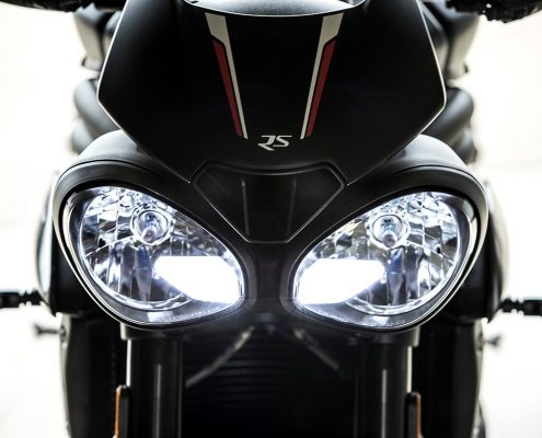 Triumph Speed Triple 2018 fari led