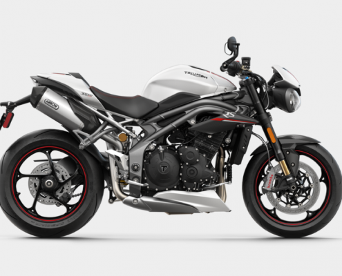 Triumph Speed Triple RS 2018 Crystal White