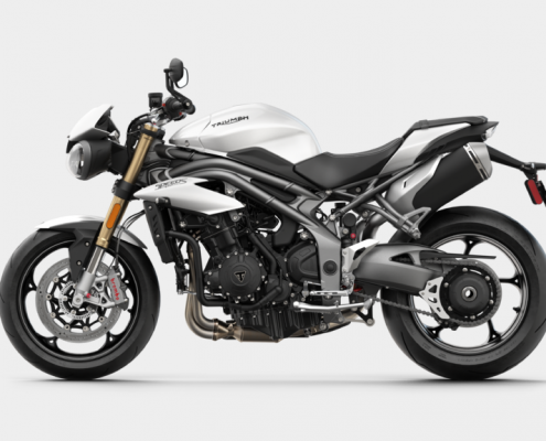 Triumph Speed Triple S 2018 Crystal White