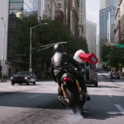 La Triumph Thruxton R nel fim Marvel Ant Man and the wasp