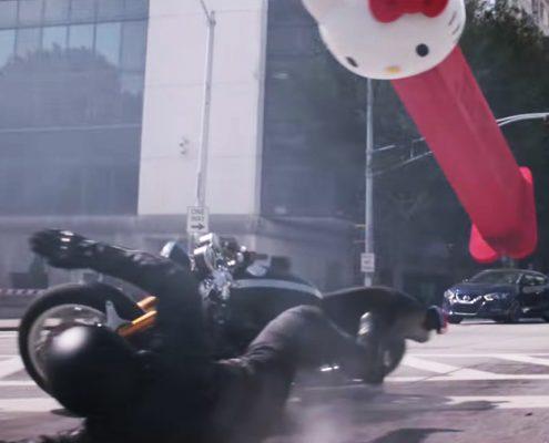 La Triumph Thruxton R nel fim Marvel Ant Man and the wasp