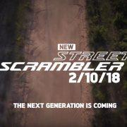 Triumph presenta la nuova Street Scrambler 2019