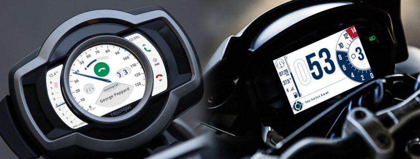 Il nuovo Triumph TFT Connectivity System