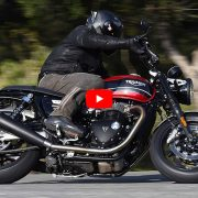 Triumph Speed Twin video prova