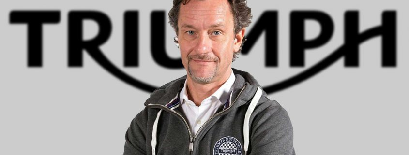 Andrea Buzzoni il nuovo General Manager d Triumph Motorcycles Italia