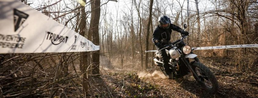 Adventure Riding Experience, il corso off-road di Triumph