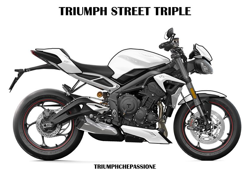 Colora la tua Triumph Street Triple