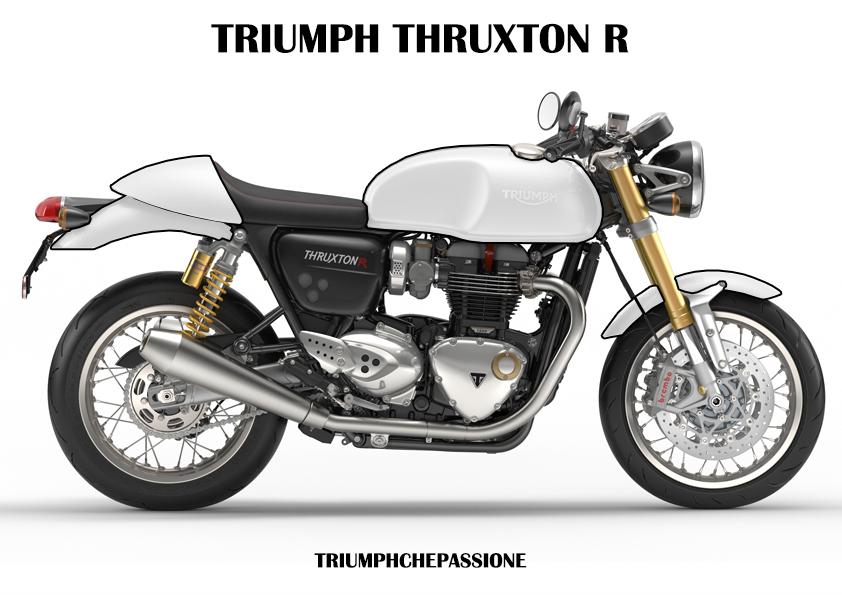 Colora la tua Triumph Thruxton R
