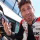 Alberto Naska prova le Triumph a Misano