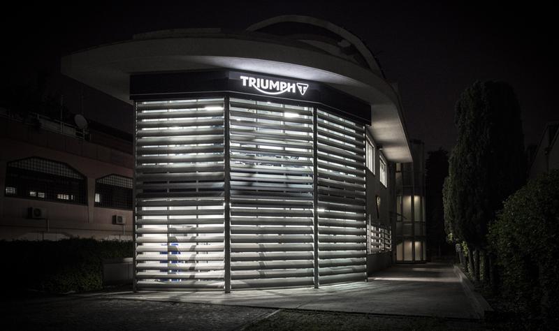 Triumph Motorcycles Italia nuova sede