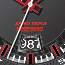 L\' orologio della Speed Triple SE