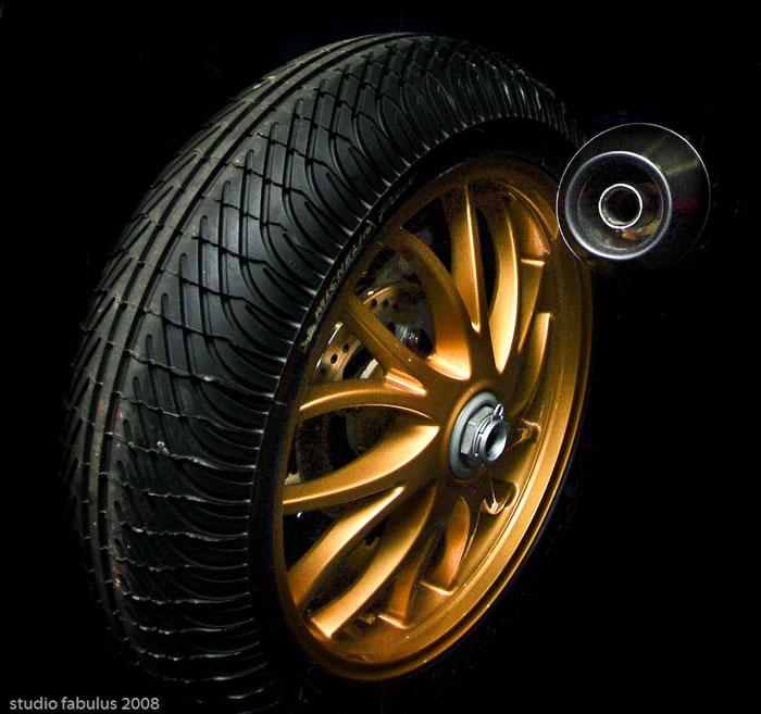 Il cerchio della Triumph Speed Triple Brown\'Racer
